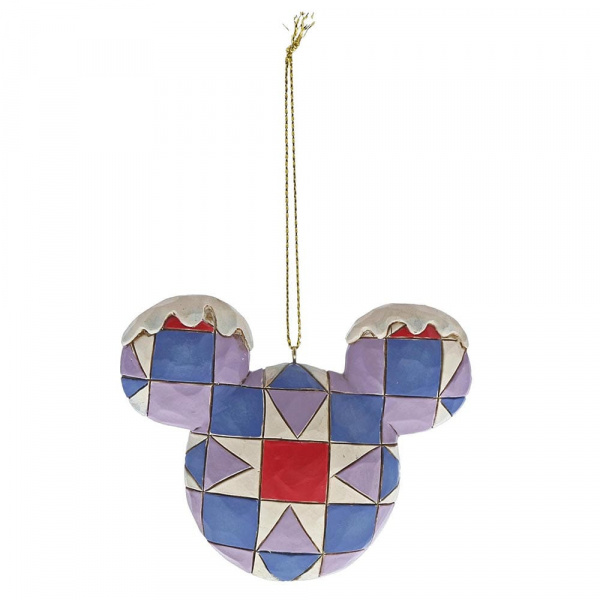 Disney - Mickey Mouse Head - Hanging Decoration
