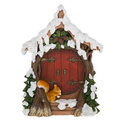 Shudehill Giftware Squirrel Door - Christmas