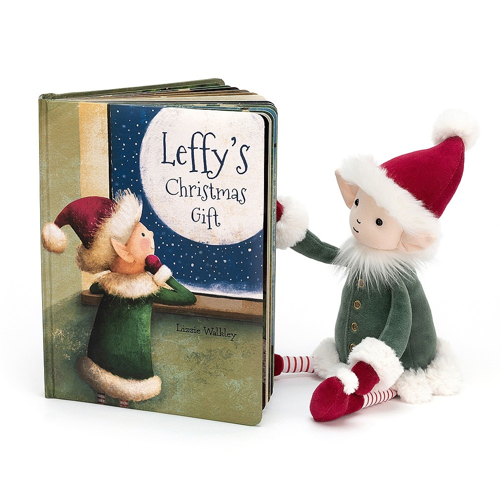 Jellycat Jellycat - Leffy's Christmas Gift - Book