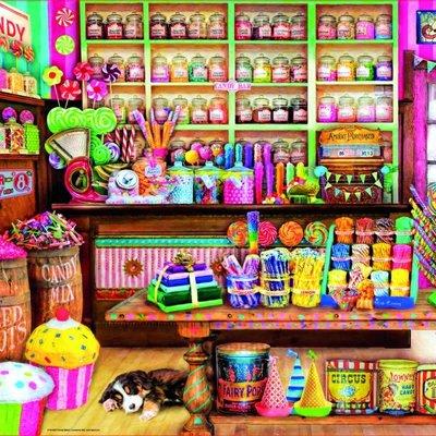 Paul Lamond Games 1000pcs - Candy Shop Puzzle
