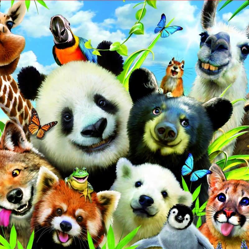 Educa 1000pcs - Llama Drama Selfie Puzzle