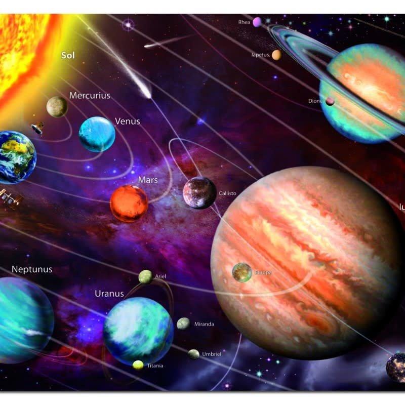 Educa 1000pcs - Neon Solar System Puzzle