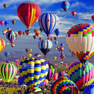 Educa 1500pcs - Hot Air Balloons Puzzle