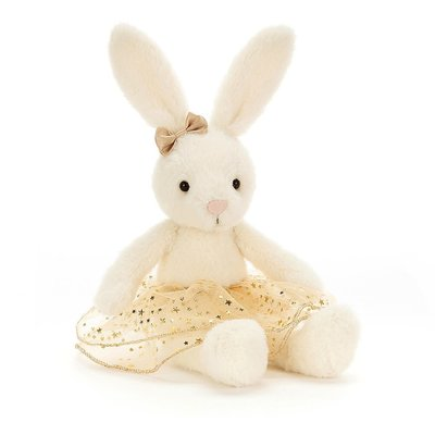 Jellycat - Dressed to Impress Jellycat - Glistening Belle Bunny - Small