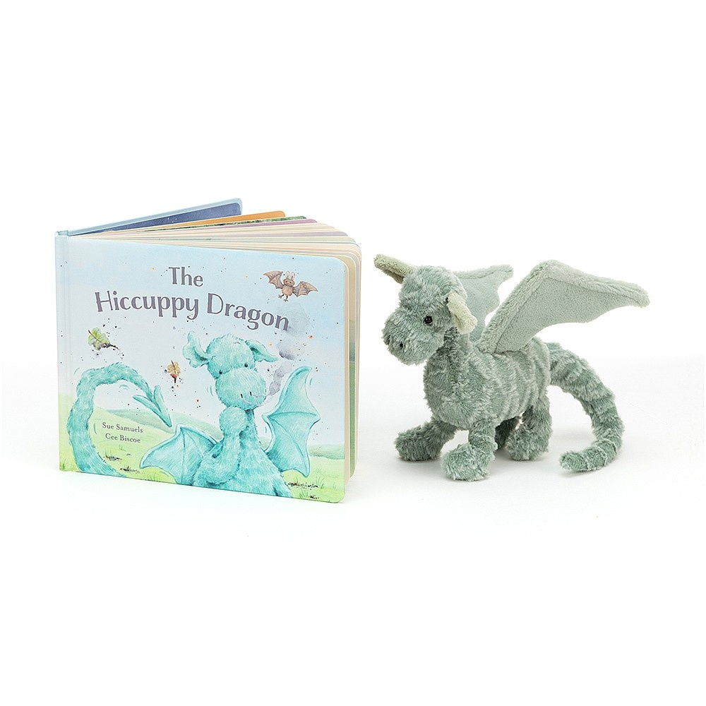 Jellycat Jellycat - The Hiccuppy Dragon - Book