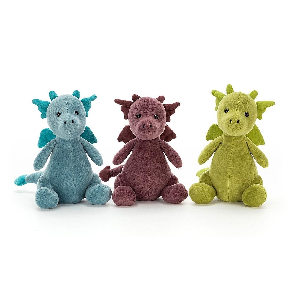Jellycat Jellycat - Little Puff Sapphire