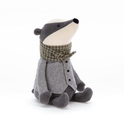 Jellycat - Dressed to Impress Jellycat - Riverside Rambler Badger