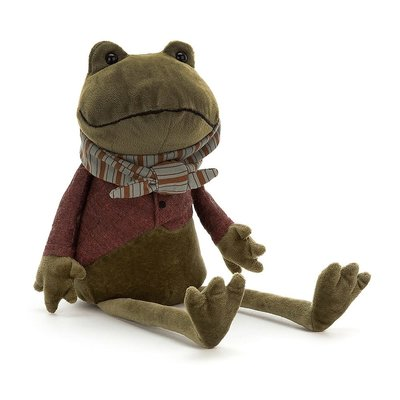 Jellycat - Dressed to Impress Jellycat - Riverside Rambler Frog