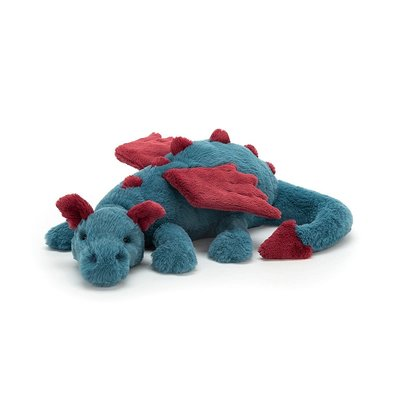 Jellycat - Beautifully Scrumptious Jellycat - Dexter Dragon - Medium