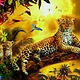 Educa 500pcs - Leopard and her Cubs Puzzle
