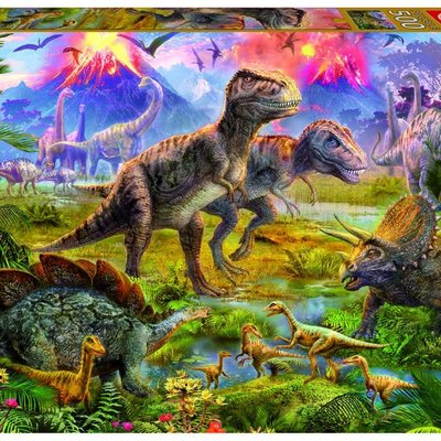 Educa 500pcs - Dinosaur Gathering Puzzle