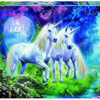 Educa 500pcs - Unicorn in the Forest Puzzle
