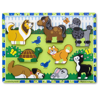 Melissa & Doug Chunky Puzzle - Pets