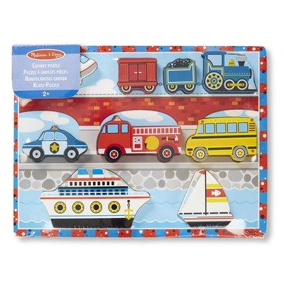 Melissa & Doug Chunky Puzzle - Vehicles
