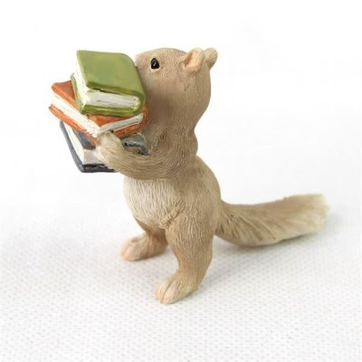 Fiddlehead Fiddlehead - Squirrel with Book
