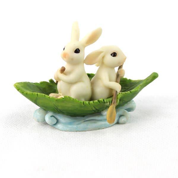 Fiddlehead Fiddlehead - Bunnies in a Leaf Boat