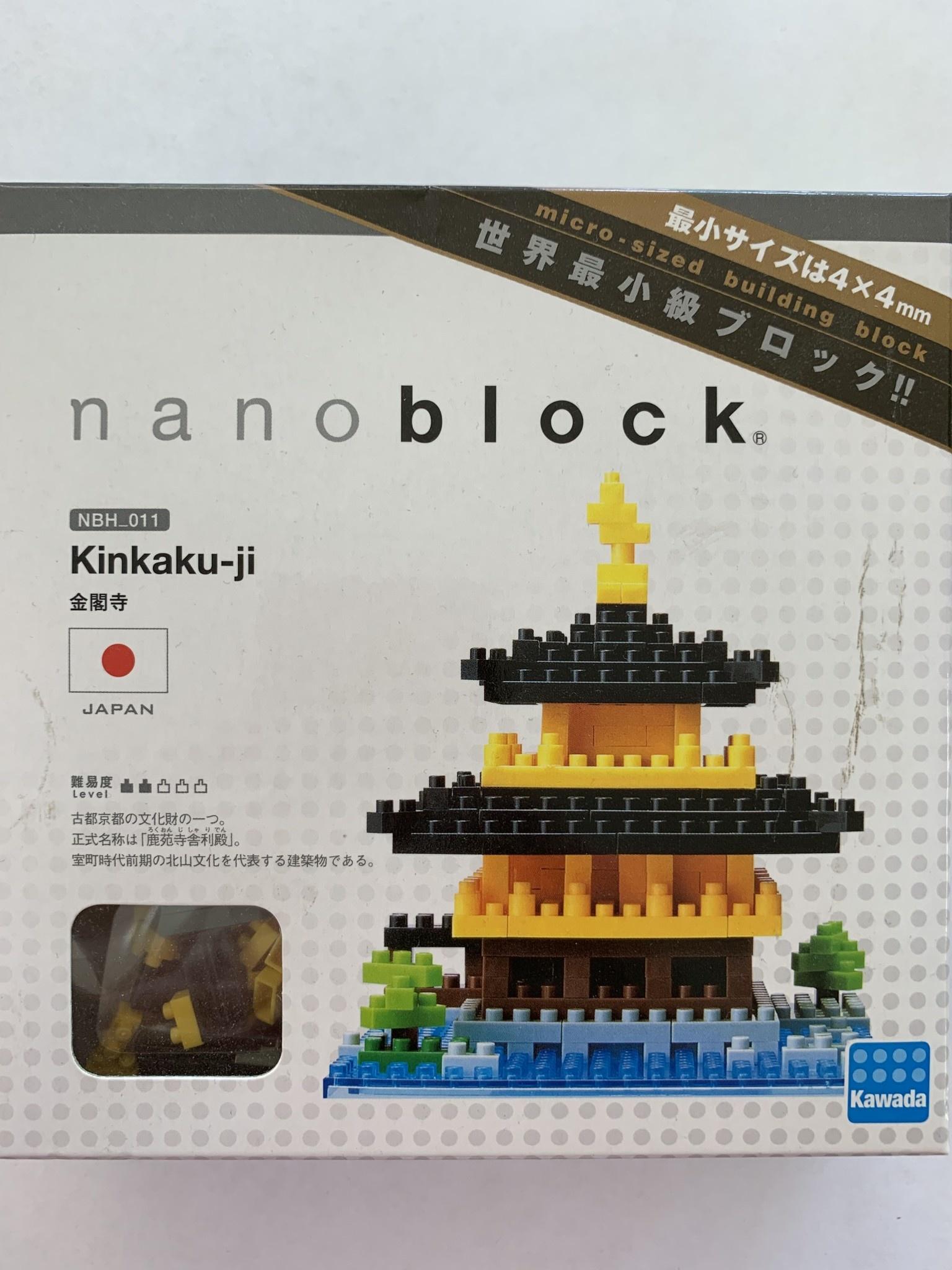 Nanoblock - Kinkaku-ji Temple