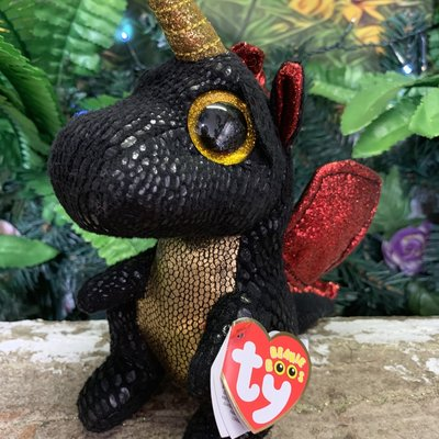 Ty Beanie Boo - Grindal the Dragon
