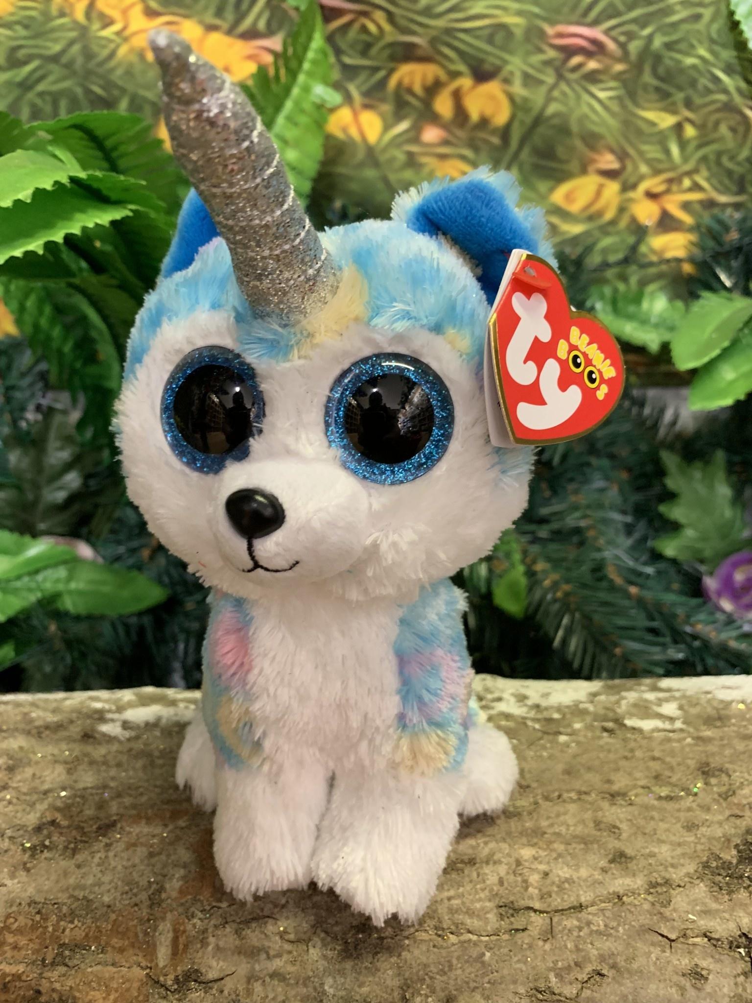 Ty Beanie Boo - Helena the Husky with Horn