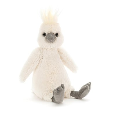 Jellycat - Bashful Jellycat - Bashful Cockatoo - Medium