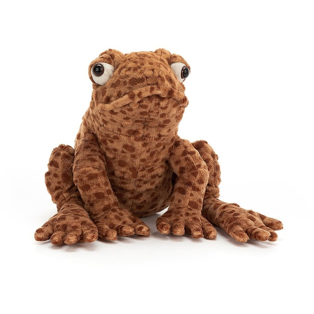 Jellycat - Colourful & Quirky Jellycat - Toby Toad
