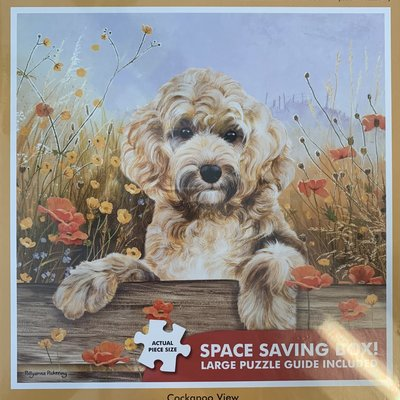 1000pcs - Cockapoo View - Square Puzzle