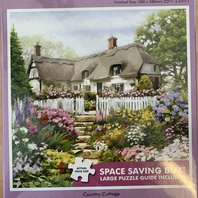 1000pcs - Country Cottage - Square Puzzle