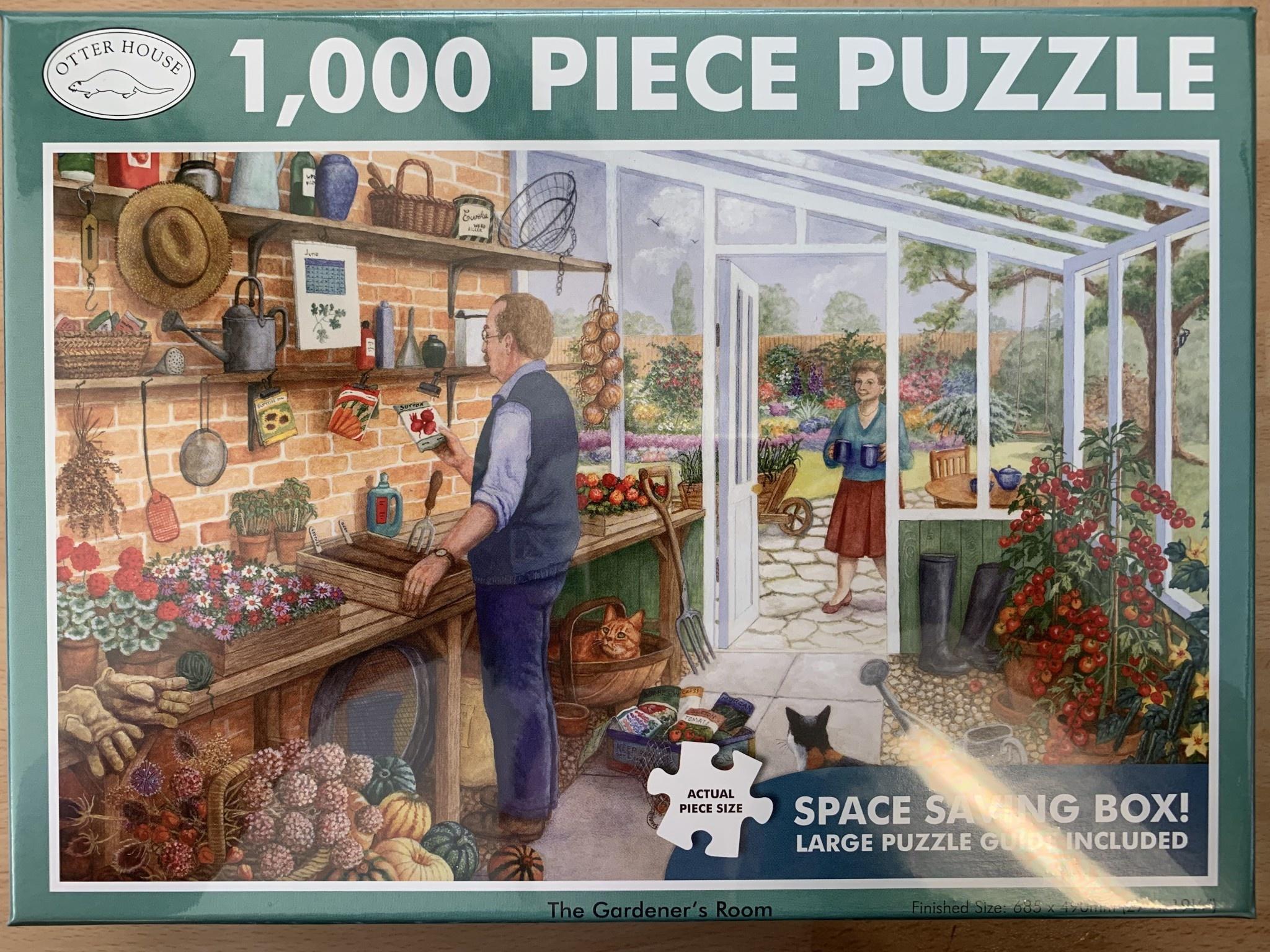 1000pcs - The Gardener's Room  - Puzzle