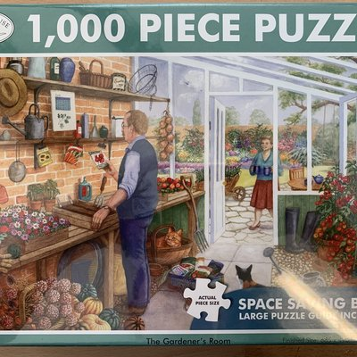 1000pcs - The Gardener's Room  - Puzzle