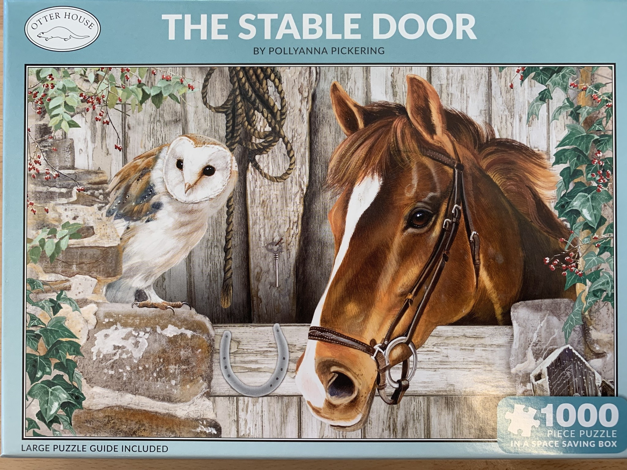 1000pcs - The Stable Door - Puzzle