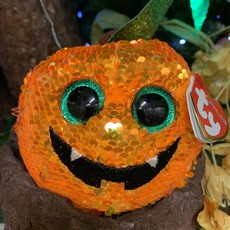 Ty Flippable Sequin Seeds the Pumpkin - Beanie Boo