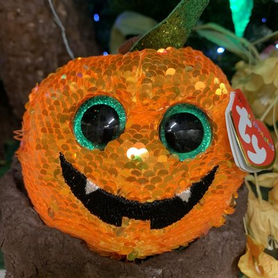 Ty Flippable Sequin Seeds the Pumpkin - Beanie Boo