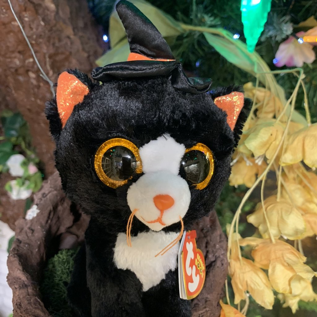 Ty Beanie Boo - Witchie the Cat