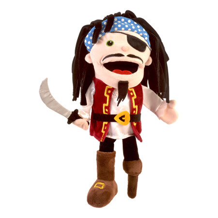 Fiesta Crafts Moving Mouth Pirate Hand Puppet