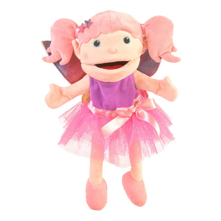 Fiesta Crafts Moving Mouth Fairy Hand Puppet
