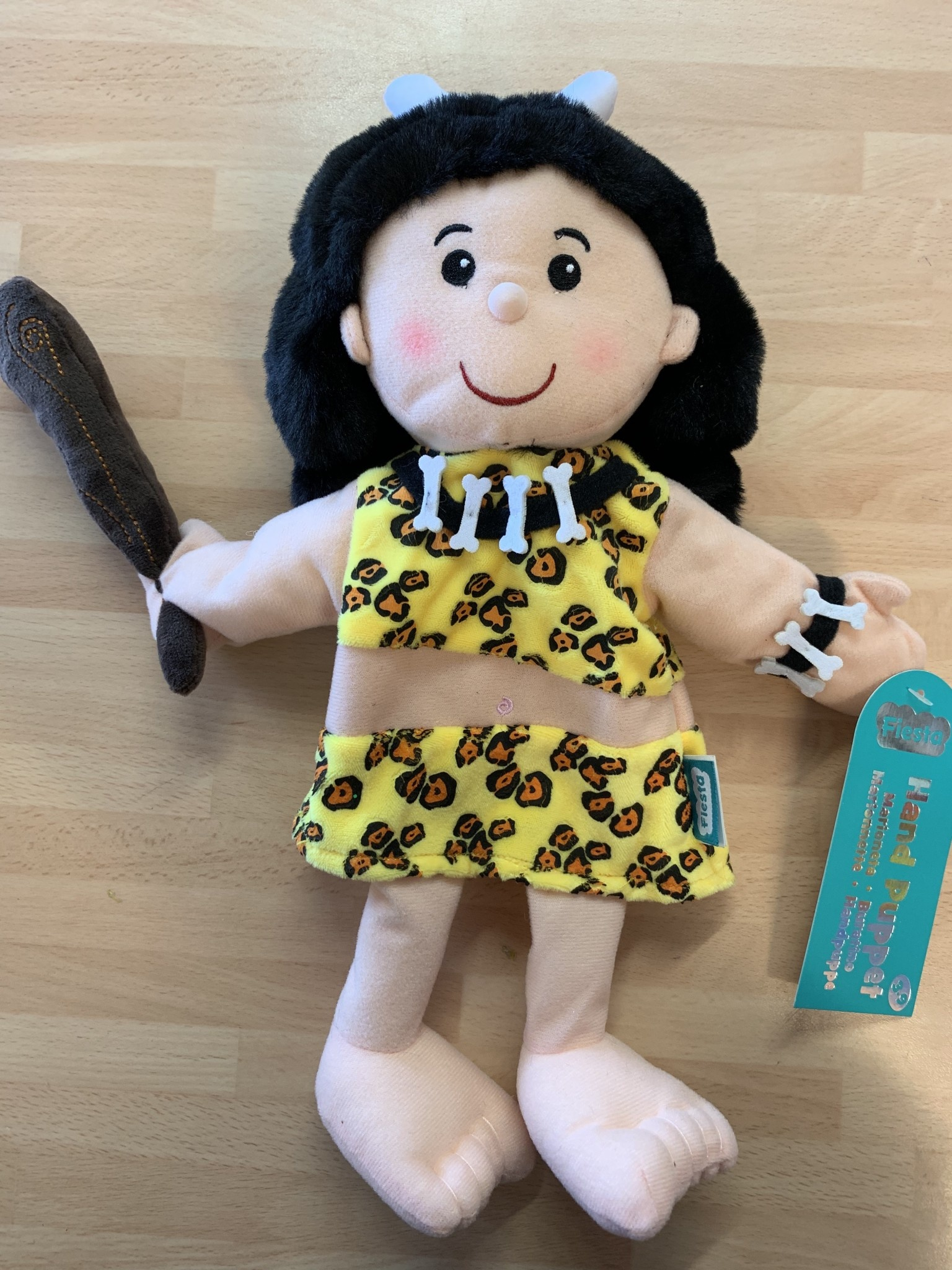 Fiesta Crafts Cave Woman Hand Puppet