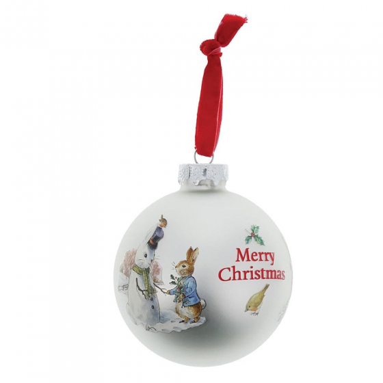 Beatrix Potter Peter Rabbit - Peter Rabbit & Snow Rabbit Bauble