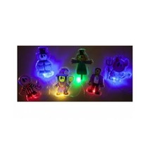 Halloween Light Up Gel Window Stickers