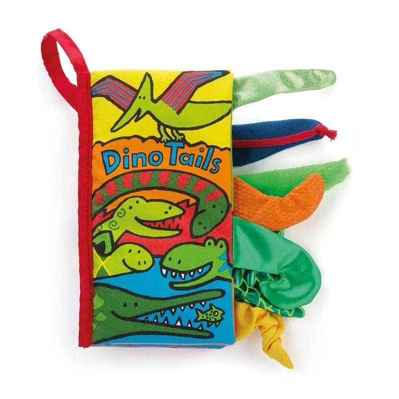 Jellycat - Soft Book Jellycat - Dino Tails - Book