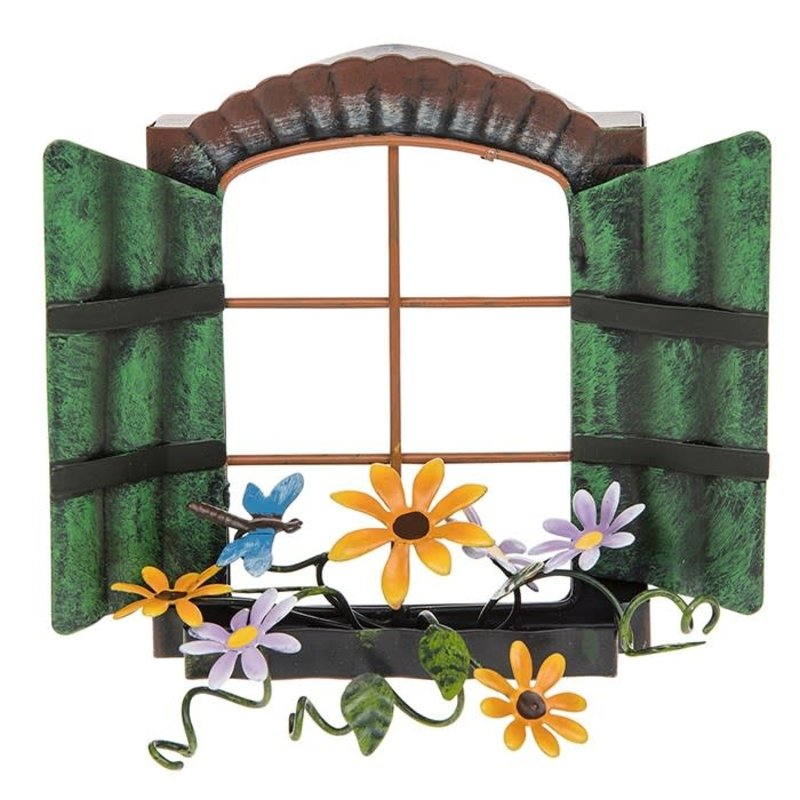 Shudehill Giftware Secret Garden Fairy Window - Daisy