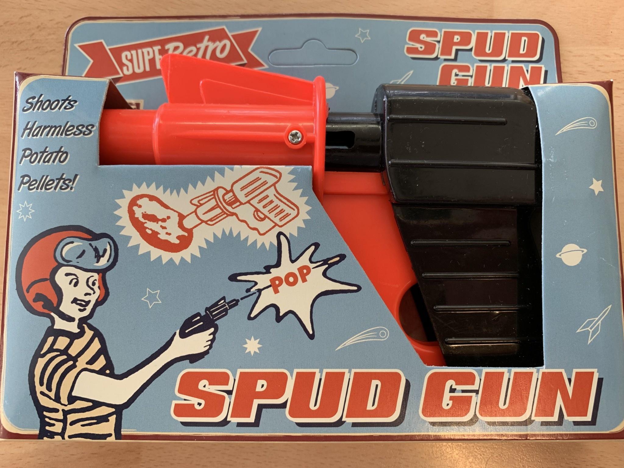 SupeRetro Toys Spud Gun