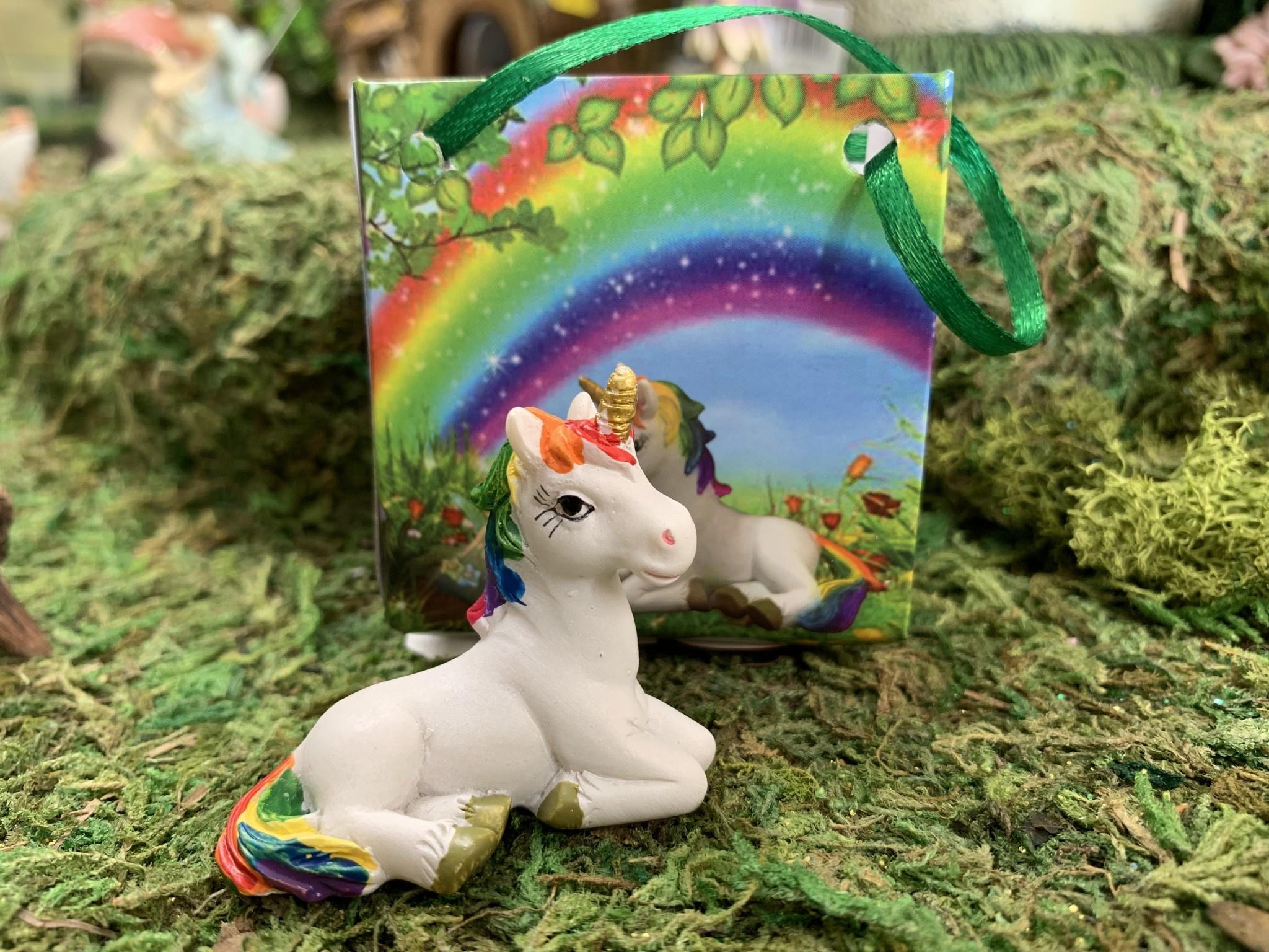 Alator Giftware Rainbow Unicorn Wishes - Small in Bag