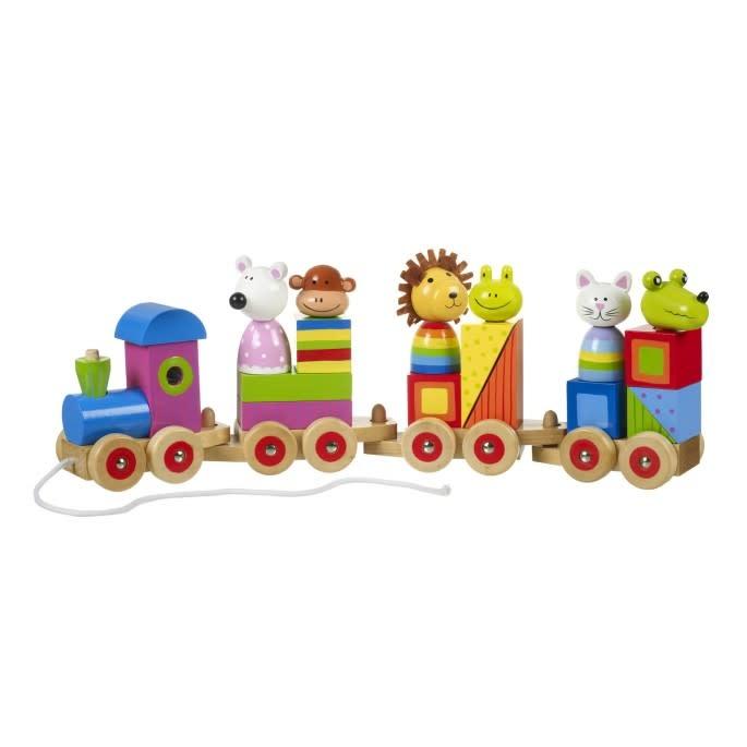 Orange Tree Toys Animal Puzzle Train