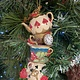 Teapot, Cups & Saucer Stack Hanging Decoration