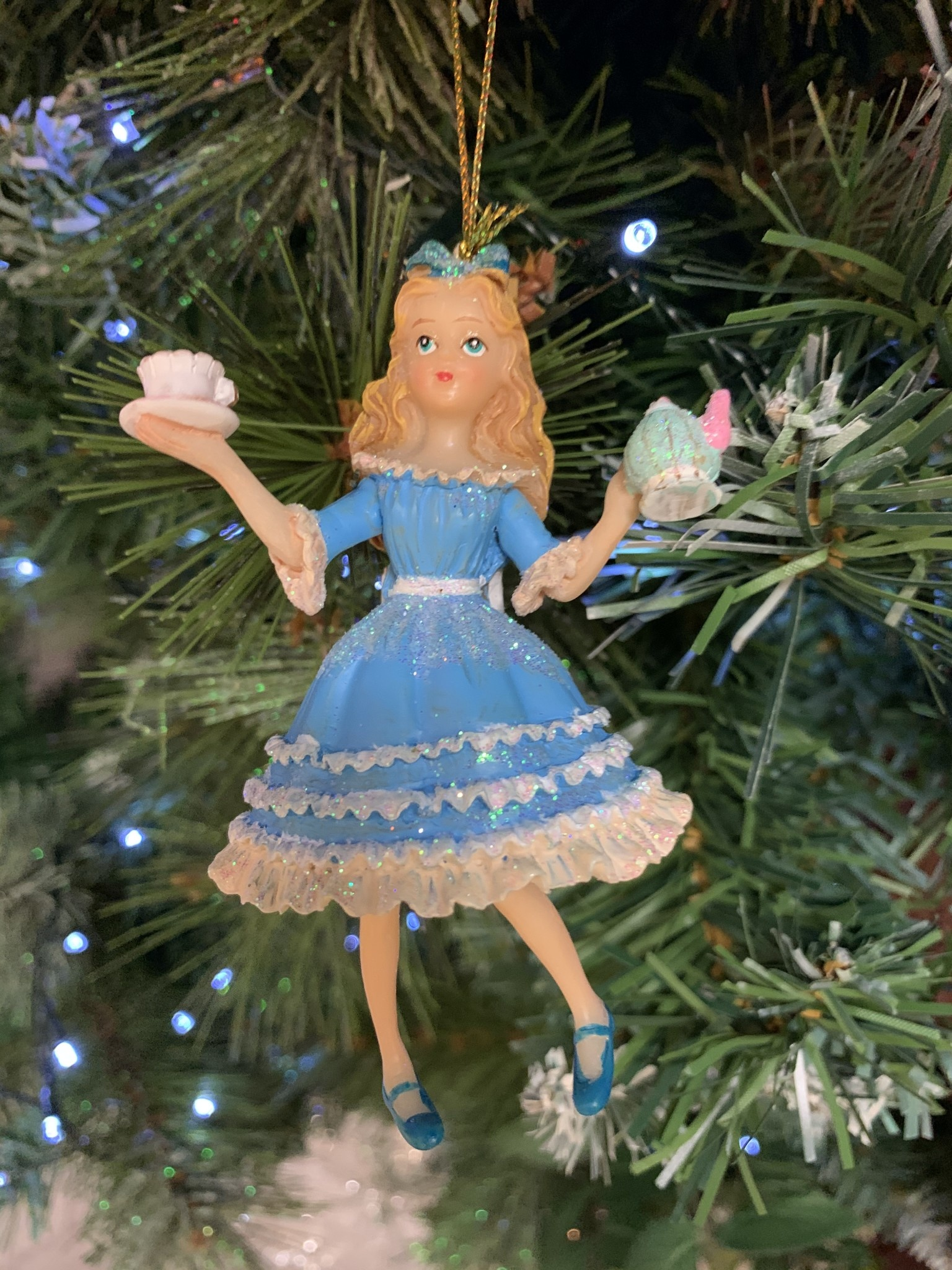Alice In Wonderland Hanging Decoration