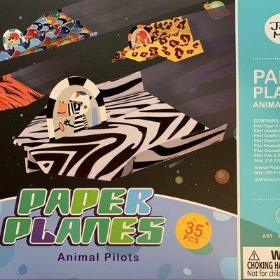 Paper Planes Animals Pilots
