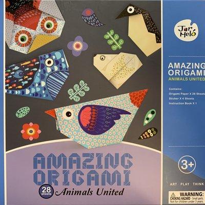 Amazing Origami Animals United