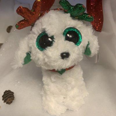 Ty Beanie Boo  - Sugar the Fluffy Dog