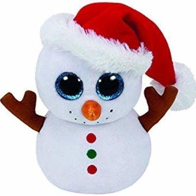 Ty Beanie Boo Buddy - Scoop the Snowman