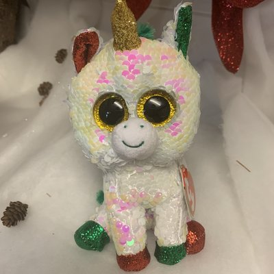 Ty Flippable Sequin Stardust the Unicorn - Beanie Boo